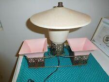 Vintage Mid Century Modern Tv Lamp Planter Unique Pagoda Style Mcm