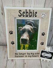 Personalised Dog Cat Pet Photo Frame Memorial Unique Keepsake gift