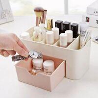 Vanity Case Beauty Box Make up Jewelry Cosmetic Nail Storage Box Drawer Basket