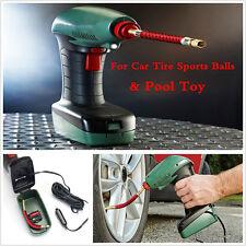 Portable Handheld Air Compressor Inflator Pump Tool For Car Bike Tire Pool&Ball