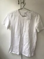 & Other Stories Organic Cotton White T-shirt. Size S/36. Brand New With Tags.