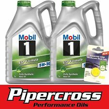 Mobil 1 ESP 5W30 Fully Synthetic 10L Low Emission Oil + FREE 5L SCREEN WASH TAB