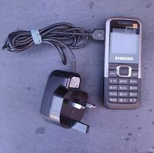 Samsung GT E1120-Negro Plateado (Naranja) Teléfono Móvil