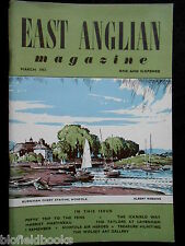 EAST ANGLIAN MAGAZINE: Norfolk/Suffolk Local History - March 1952, Lavenham/Fens