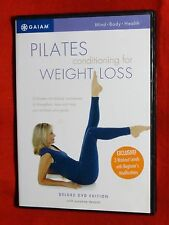 LIKE NEW Pilates Conditioning Weight Loss deLuxe Editn DVD Suzanne Deason GAIAM