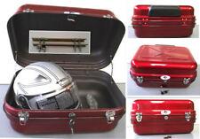 Universal Steel 48L TopBox 0701-Motorcycle-Bikes-Trikes-Metal Top Box-Red