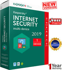 KASPERSKY INTERNET Security - 2019 / 1 Devices /1 Year / GLOBAL ACTIVITY / 7.25$