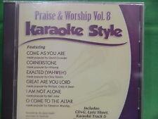 Praise & Worship~#8 ~ Christian ~ Daywind ~ Karaoke Style ~~ Cornerstone ~~ CD+G