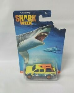 Matchbox Toyota Tacoma Lifeguard pickup Shark Week 2016 NEW MOC protector