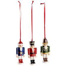 "Villeroy&Boch Ornamento ""Schiaccianoci,set 3 pz"" serie Nostalgic Ornaments"