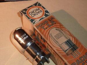 Lampe RADIO MICRO (avant 1925) Triode NOS NIB / filament ok