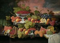"perfect 36x24 famous oil painting handpainted on canvas ""fruits""@N182"