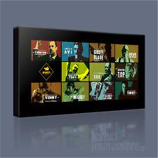 Rapimenti LAMPO Brad Pitt Jason Statham fantastico Gangster iconica stampa tela arte Williams