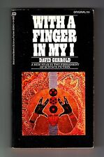 WITH A FINGER IN MY I (David Gerrold/1st US/PBO/short stories)