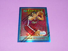 BRIAN WILLIAMS LOS ANGELES CLIPPERS HOLO FINEST TOPPS 1996 NBA BASKETBALL CARD