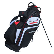 Benross ProLite 2.0 Light Golf Stand Bag Dual Strap Carry Bag Black or Navy Blue