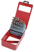 Neilsen 25pc HSS High Speed Steel Metal Drill Bit Garage Set Tool 1mm - 13mm