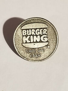 BURGER KING PIN.