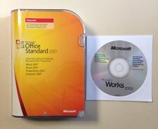 MS Office 2007 Standard Vollversionsbundel deutsch inkl. 2ter Installation