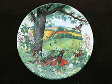 Wedgwood Collector Plate: Meadows & Wheatfields, Colin Newman's Country Panorama