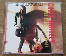 Chris Whitley - Living With The Law - Scarce 1991 Promo Cd - XPCD 149