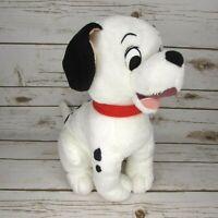 "Disney Store 101 Dalmatians Lucky Puppy Dog 13"" Bean Bag Plush"