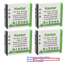 Kastar Replacement Battery for Fujifilm NP-50 BC-50 Fuji FinePix X20 Camera