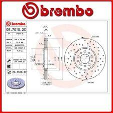 09.7010.2X#254 DISCO FRENO ANTERIORE SPORTIVO BREMBO XTRA VW NEW BEETLE (9C1, 1C