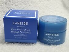 Laneige WATER SLEEPING MASK All Skin Types Moisturizing Purifying .3 oz/10mL New