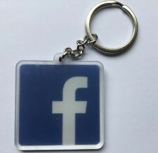 FACEBOOK KEYRING Addict Phone App Social Network  Promotion Birthday Gift Easter