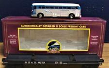 Baltimore & Ohio Flatcar with Greyhound Baltimore Diecast Bus