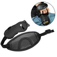 Black Wrist Strap Camera Hand Grip Leather for Canon Nikon Sony Olympus SLR DSLR