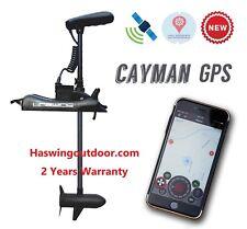 "Brand NEW HASWING GPS12V 55LB 54"" Shaft TROLLING MOTOR +R salt/fresh water"