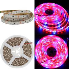 SMD 5050 LED Strip Grow Light Lamp Full Spectrum 3 Red 1 Blue Waterproof IP65