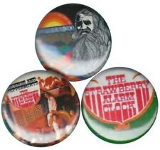 Strawberry Alarm Clock: Set of 3 Buttons-Pins-Badges Incence & Peppermints Psych