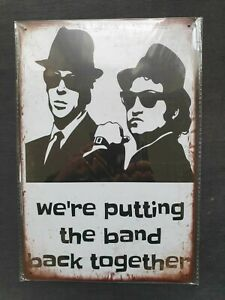 The Blues Brothers Metal Sign Plaque Man Cave Retro Garage Film Shed Vintage