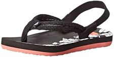 ROXY TW Volcano Toddler Open Toe Synthetic Slingback Sandal 5