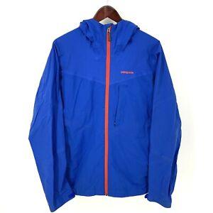 Patagonia Untracked Mens Jacket sz Medium Blue Taped Seams Hood