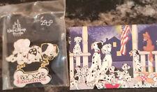 Disney Dangle Pin - 102 Dalmatians Sequel to 101 Dalmatians Puppies + Button