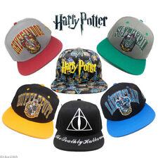 Harry Potter Hogwarts School Adjustable Hat Snapback Hats Cap Baseball Fan Gift