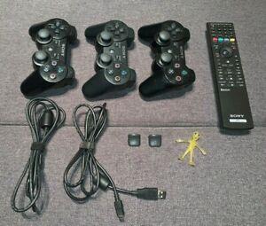 Sony PlayStation DualShock 3 Controller, Remote Control, Gaming Trigger Bundle