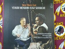 Yehudi Menuhin & Ravi Shankar LP - West Meets East