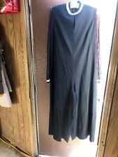 Vintage Mini 1970s Dress Cirette White Stripes Long Sleeve Pants