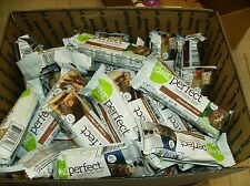 74 ASSORTED ZONE Perfect Bars 1.76oz Nutrition Bars 14g protein  NO RESERVE