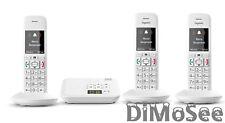 Gigaset E370a Schnurlostelefon mit ab weiß