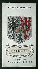 BERLIN  Prussia  Coat of Arms  Original 1912 Vintage Small Card