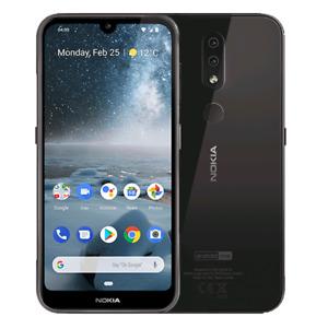 Nokia 4.2 (Unlocked) 32GB DUAL SIM 5.71in 4G LTE 13MP 3GB RAM AI Waterdrop Black