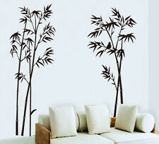 Chinese Bamboo Wash Painting Removable Vinyl Decal Mural Home Decor Wall Sticker