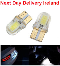 T10 194 168 W5W COB 4 SMD LED CANBUS Silica Bright White License Light Bulb