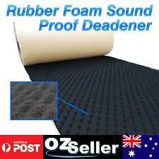 1M x 3M Car Studio Sound Insulation Deadener Noise Proofing 15mm Wave Cell Foam